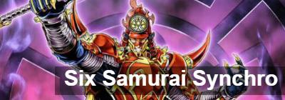 Six Samurai Synchro: deck recipe [August 2019] | YuGiOh