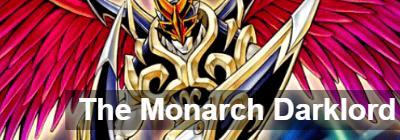 The Monarch Darklord: deck recipe | YuGiOh! Duel Links - GameA