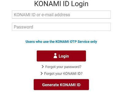 Fuck konami id