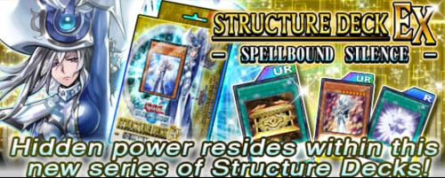 Structure Deck Ex Spellbound Silence Yugioh Duel Links