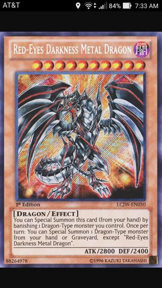 Red-Eyes Black Metal Dragon | Deck and Rulings | YuGiOh! Duel Links