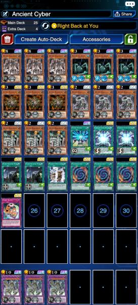 Ultimate Ancient Gear Golem: auto duel deck | YuGiOh! Duel