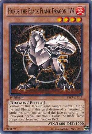 Horus the Black Flame Dragon LV4 | Deck and Rulings | YuGiOh
