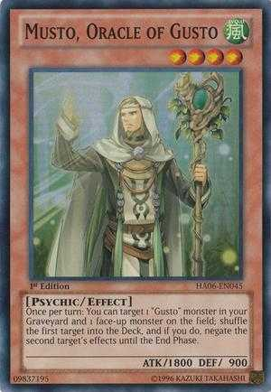 Musto, Oracle of Gusto
