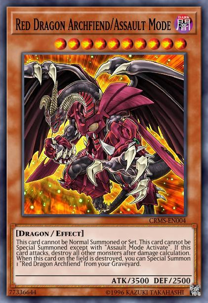 Red Dragon Archfiend/Assault Mode