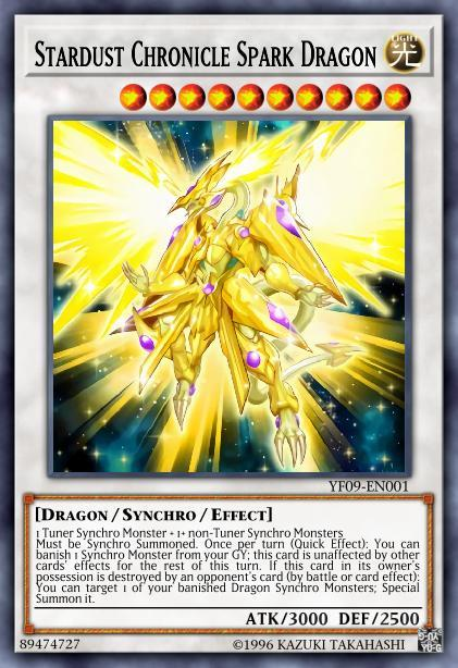 Stardust Chronicle Spark Dragon