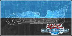 Game Mat: Turbo Duel (Dark Signer Kalin Kessler)