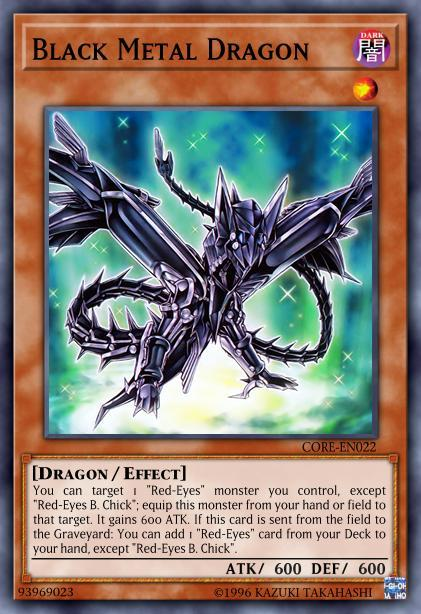 Black Metal Dragon