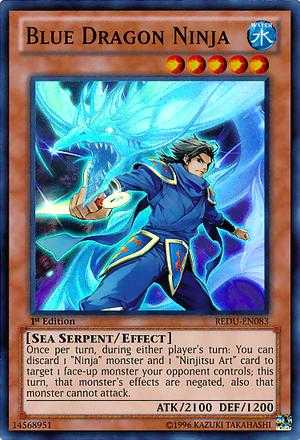 Blue Dragon Ninja