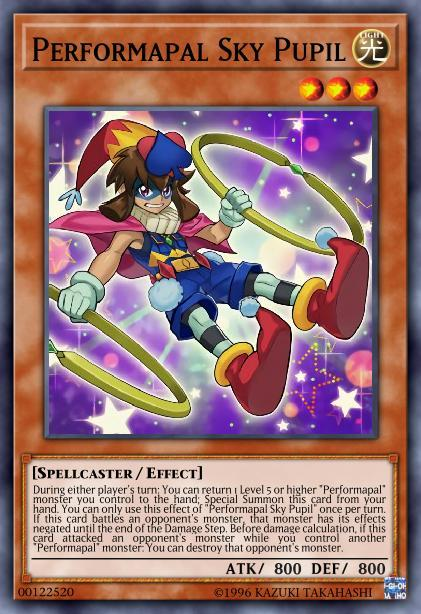 Performapal Sky Pupil