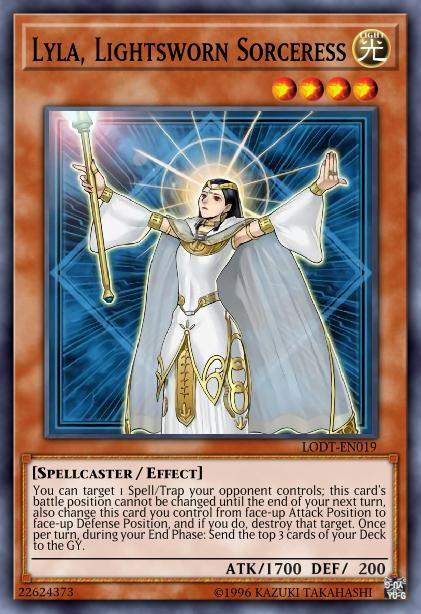 Lyla, Lightsworn Sorceress