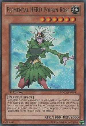 Elemental HERO Poison Rose