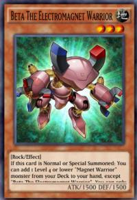 Beta The Electromagnet Warrior