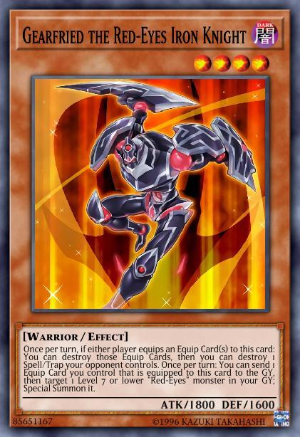 Gearfried the Red-Eyes Iron Knight
