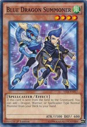 Blue Dragon Summoner