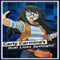 Card Sleeves: Carly Carmine Duel Links Spotlight!