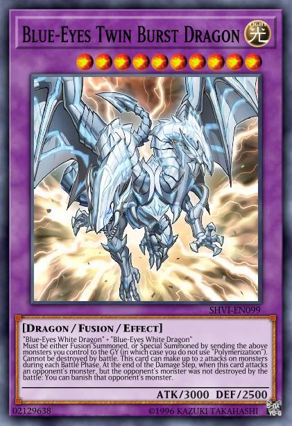 Blue Eyes Twin Burst Dragon Decks And Tips Yugioh Duel Links Gamea